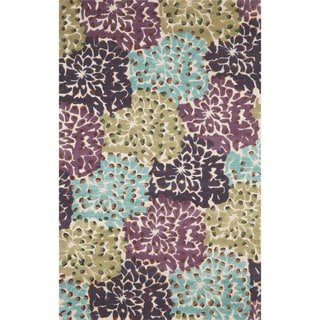 Grand Flowers Indoor Rug (5'X8')