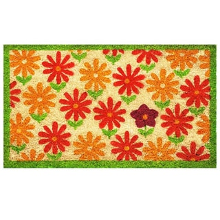 Sweet Surprise Natural Coir with Vinyl Back Doormat (1'5 x 2'5)