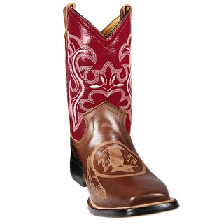 Washington Redskins Junior Western Boots