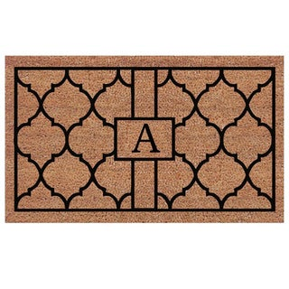 Pantera Extra-thick Monogrammed Doormat (2' x 3')