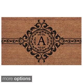 Garbo Extra Thick Monogrammed Doormat (1'6 x 2'6)