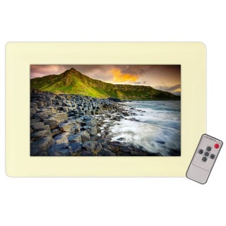 PyleHome PLVW9IW 9.2'' In-Wall Mount TFT LCD Flat Panel Monitor for Home & Mobile Use W/VGA & RCA Inputs (Refurbished)