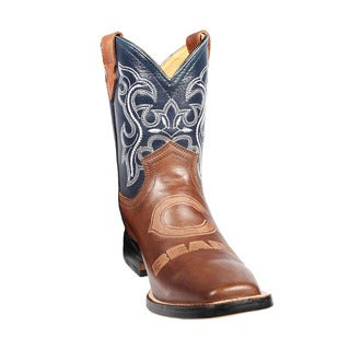 Kids Chicago Bears Western Leather Boots
