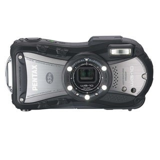 Pentax Optio WG-10 Waterproof 14MP Black Digital Camera