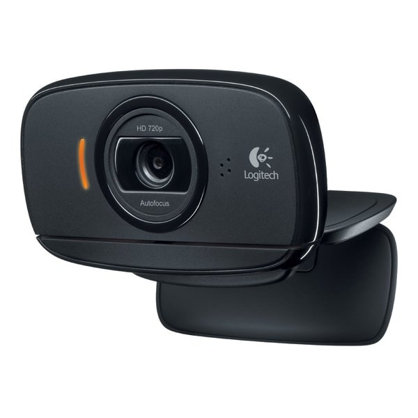 Logitech C525 Webcam - Black - USB 2.0 - 1 Pack