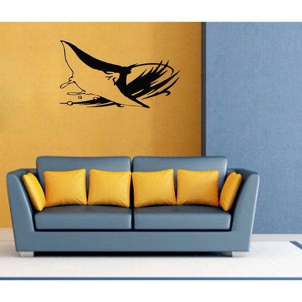 Sting Ray Vinyl Wall Decal