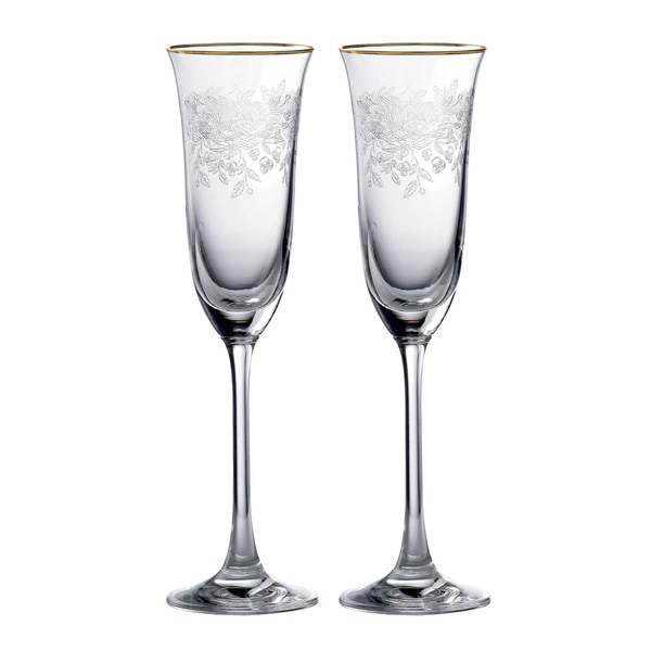 Royal Albert Old Country Roses Flutes (Set of 2)