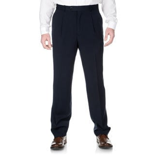 Adolfo Men's Slim Fit Navy Pant Seperates