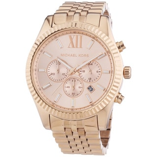 Michael Kors Women's Lexington Chronograph Watch