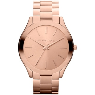 Michael Kors Women's MK3197 Slim Runway Watch