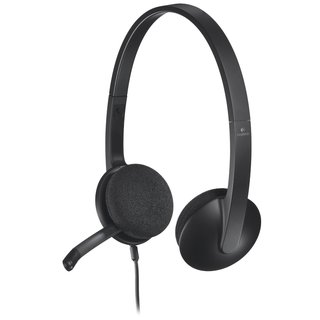 Logitech H340 USB Headset (Refurbished)