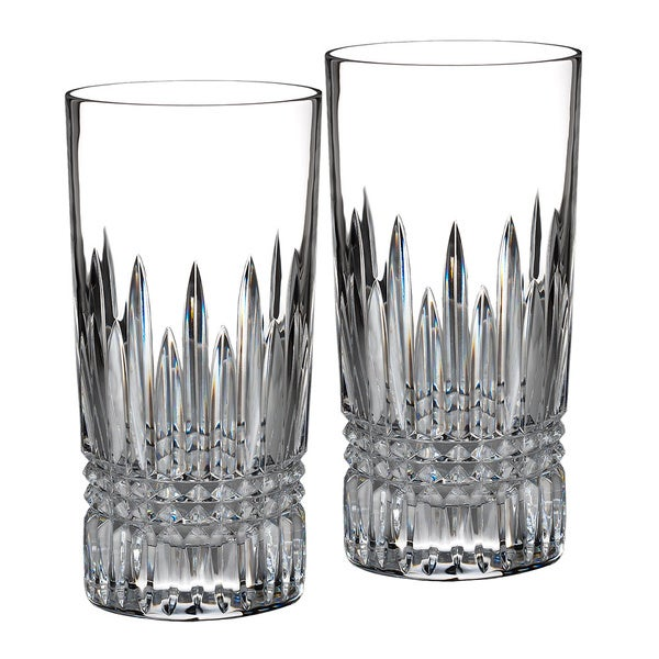 Waterford Lismore Diamond HiBalls (Set of 2)