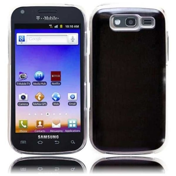 INSTEN Black Phone Case Cover for Samsung Blaze 4G T769