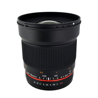 Rokinon 16mm T2.0 Ultra Wide Angle Lens