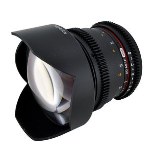 Rokinon 14mm T3.1 Aspherical Wide Angle Cine Lens for Video