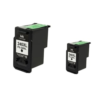 Canon-CL 240XL Black Cartridge Set (Remanufactured) (Pack of 2)