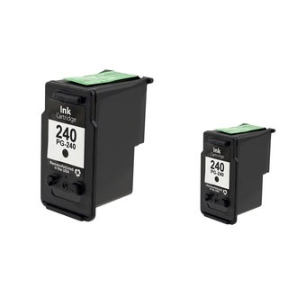Canon-CL 240 Black Cartridge Set (Remanufactured) (Pack of 2)