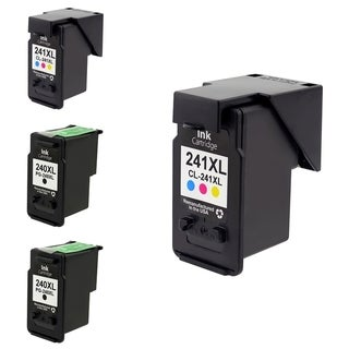 Canon-CL 240XL/ 241XL 2-Ink Cartridge Set (Remanufactured)