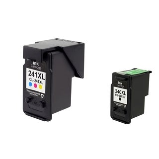 Canon-CL 240XL/ 241XL 2-Ink Cartridge Set for Canon CL-241XL (Remanufactured)