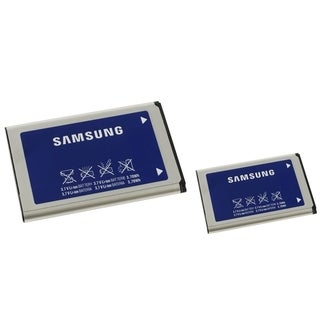 Samsung Rechargeable Standard OEM Battery AB46365UGZ for Samsung U460 Intensity 2 (Pack of 2)