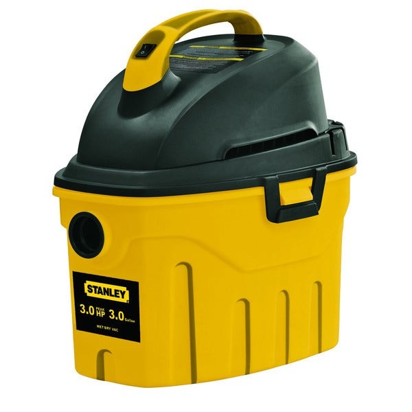 Stanley 3 Gallon Wet/ Dry Vacuum