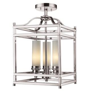 Z-Lite 3-light Semi Flush Mount Light