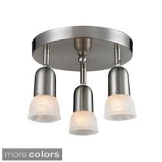 Z-Lite Directional 3-light Semi Flush Mount Light