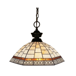 Z-Lite 1-light Bronze Pendant Light