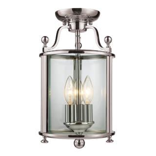 Z-Lite 3-light Semi-flush Mount Light