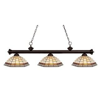 Z-Lite 3-light Traditional Billiard Fixture