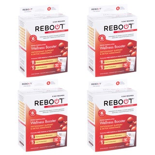 REBOOTizer Anti-Aging Antioxidant Recovery Supplement (24 On-The-Go Pouches)