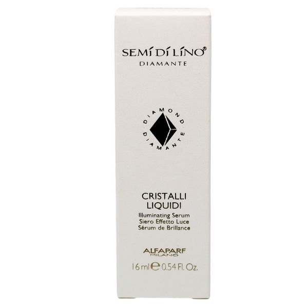 Alfaparf Semi di Lino Diamante Cristalli Liquidi Illuminating 0.54-ounce Serum
