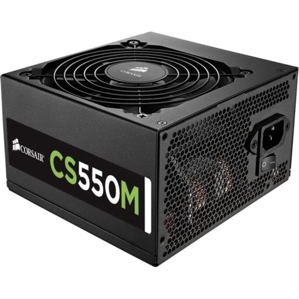 Corsair CS Series Modular CS550M - 550 Watt 80 PLUS Gold Certified PS