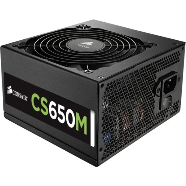 Corsair CS Series Modular CS650M - 650 Watt 80 PLUS Gold Certified PS