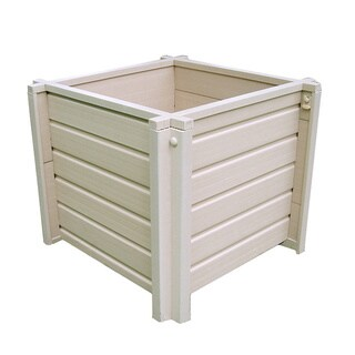 EcoChoice Wood 18-inch Square Planter
