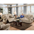 Franklin Havanna Platinum Reclining Sofa/Love Set