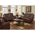 Franklin Chocolate Motion Sofa & Loveseat