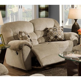 Franklin Havanna Platinum Motion Loveseat