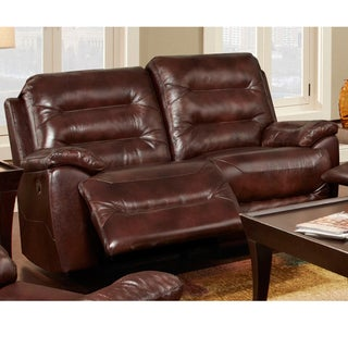 Chocolate Motion Loveseat