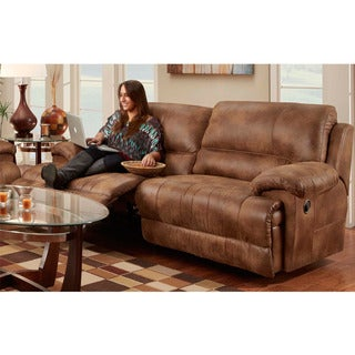 Franklin Caswell Padre Almond Motion Sofa