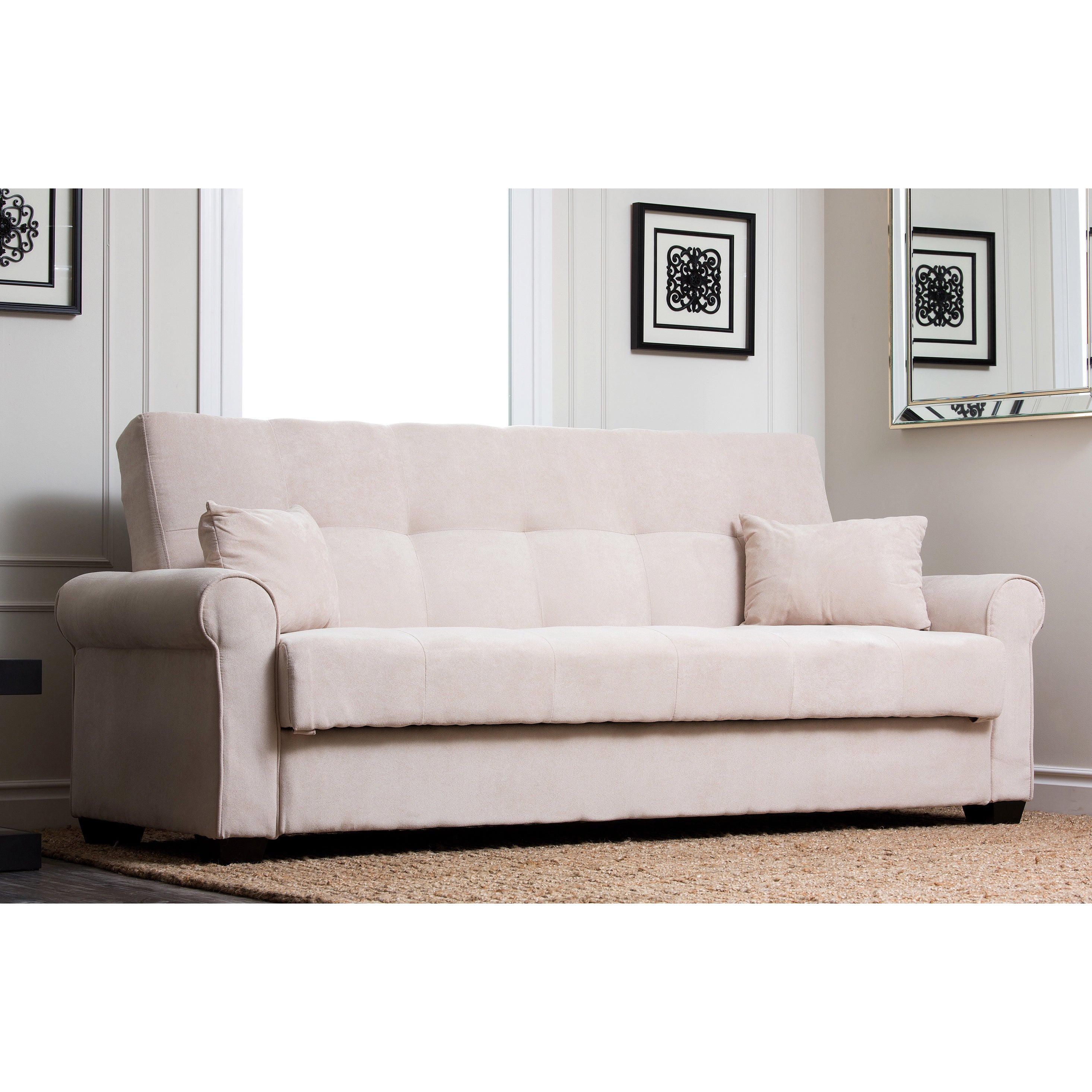 Sofa Bed Deals: ABBYSON LIVING Amy Fabric Sleeper Sofa Bed