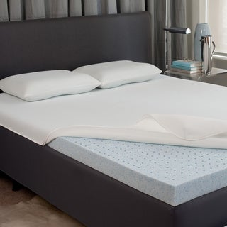 Dream Form Fresh 2.5-inch Gel Memory Foam Mattress Topper with Cover