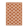 Alliyah Handmade Coral Rose Wool Rug (8' x 10')