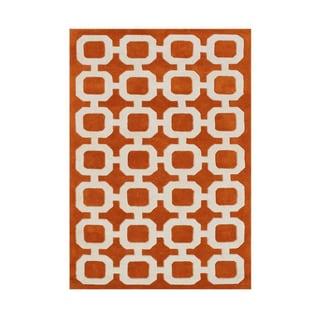 Sale alerts for  Alliyah Handmade Coral Rose Wool Rug (8' x 10') - Covvet