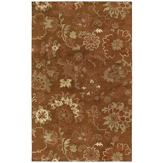 St. Joseph Copper Peshawar Hand-tufted Wool Rug (5' x 7'9)