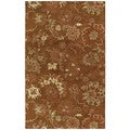 St. Joseph Copper Peshawar Hand-tufted Wool Rug (9'6 x 13')