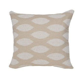 Tan Ikat Cloud 20-inch Accent Pillow