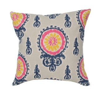 Birch Medallion 20-inch Decorative Pillow