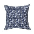 Blue Kimono Snorkle 20-inch Decorative Down Fill Pillow