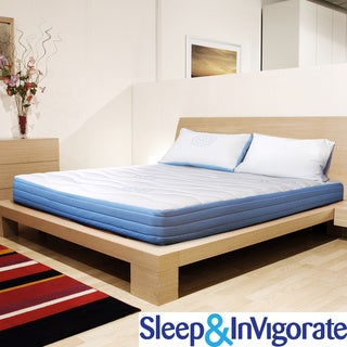 Sleep and Invigorate 10-inch King-size Latex and Foam Mattress
